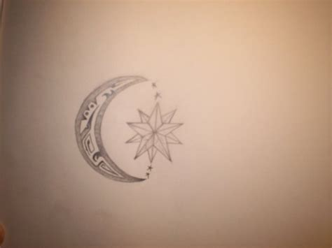 sun and moon tribal tattoo corey design designs by amanda kirby