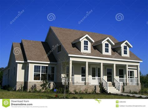 house styles in america country home american style stock image image 2285405
