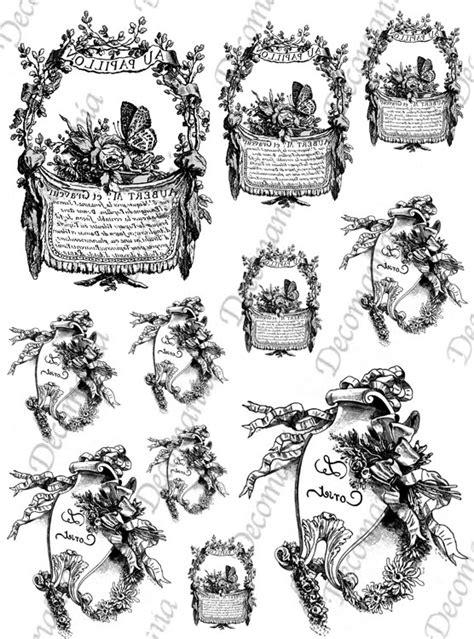 fiori e scritte riflessi di carta serie 5 deco chic carte da