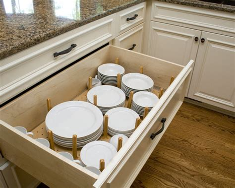 Kitchen Drawer Inserts For Plates by Plate Stack Drawer Insert