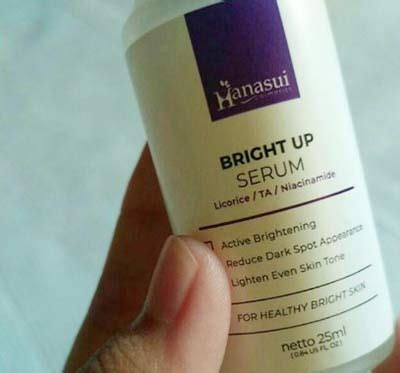 review serum hanasui manfaat bright  propolis rich