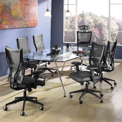 ofm tempered glass conference table stainless steel ofm glass conference table 47 quot x 94 quot gt4794