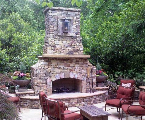 25 best ideas about outdoor fireplace kits on