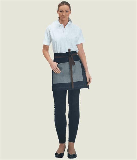 Appron Celemek Denim denny s denim waist apron with pocket dp103