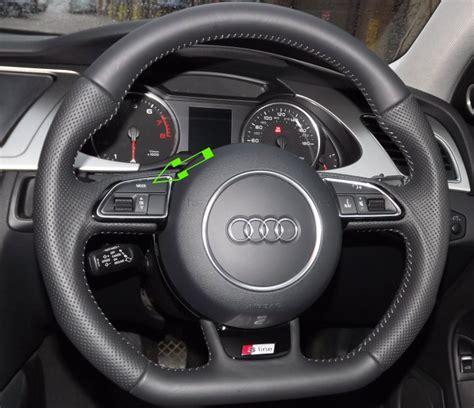 audi steering wheels genuine audi flat bottom 2012 edition multifunction