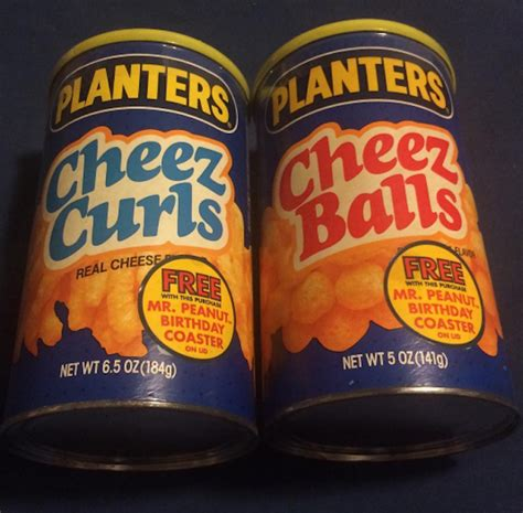 Planters Cheez Balls In A Can by 8 Discontinued Foods We Wish Would Make A Comeback Tastemade