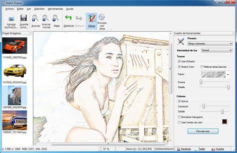 sketchbook que es efecto de dibujo para fotos efecto de l 225 piz para fotos
