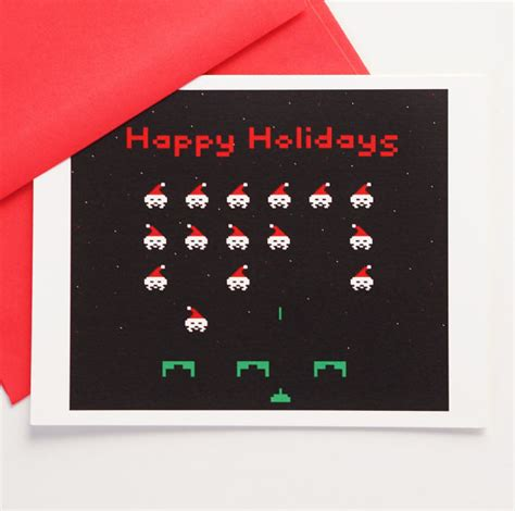 geekiest holiday greeting cards
