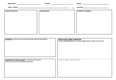 design brief lesson plan teaching learning and leading k 12 planning with the