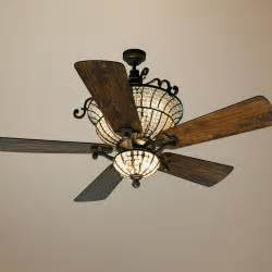 ceiling fans with crystals 56 quot craftmade cortana in peruvian with ceiling fan