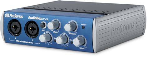 Presonus Audio Box Usb presonus audiobox 22vsl usb 2 0 recording system