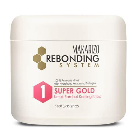 Catok Untuk Rebonding rebonding system straightening gold 500 g makarizo store