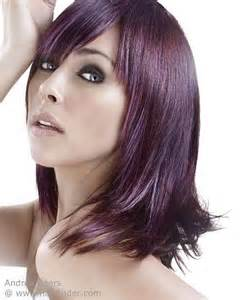 eggplant hair color eggplant hair color brown hairs