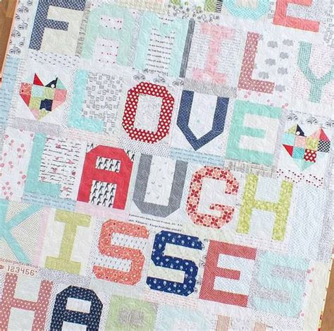 How Do You Spell Quilt by Abc Birthday Quilt Along 171 Moda Bake Shop