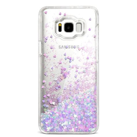 Tpu For Iphone 55s Cs 39c Soft samsung galaxy s8 bling flowing glitter liquid sparkle blue pink