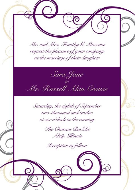 free photo invitation templates free photo