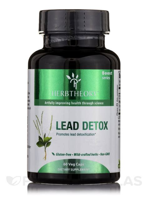 How To Detox From Lead lead detox 60 vegetarian capsules