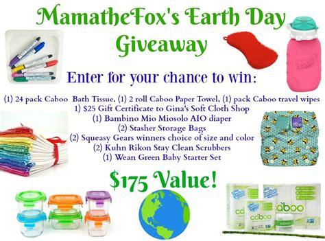Earth Day Giveaways - mamathefox earth day giveaway mamathefox