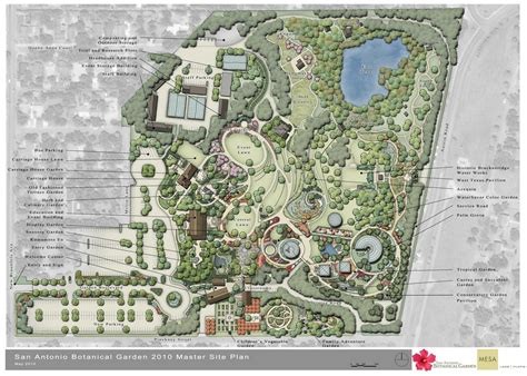 sa botanical garden master site plan 2010 it s pretty