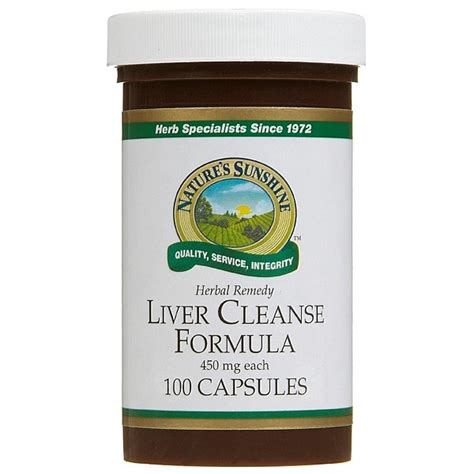 Home Liver Detox Cleanse by Nature S Liver Cleanse Formula Healthpost Nz