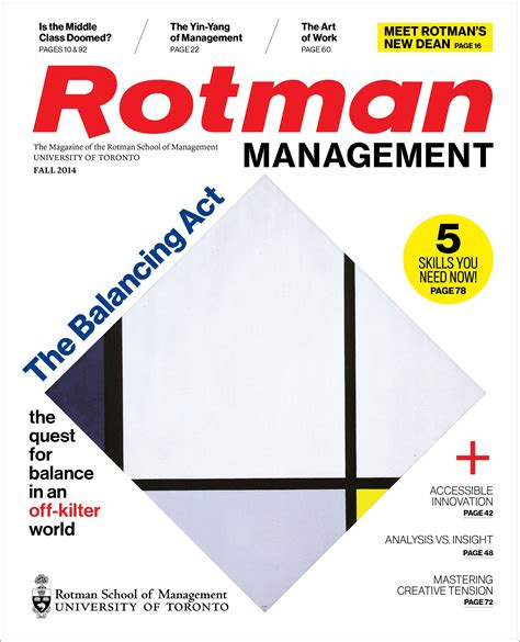 Rotman Mba Magazine by Back Issues Rotman School Of Management