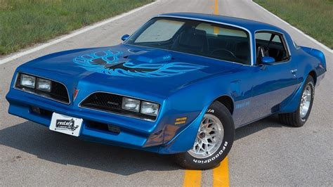 Blue 78 Trans Am by 1978 Trans Am Martinique Blue Auto Ac W72