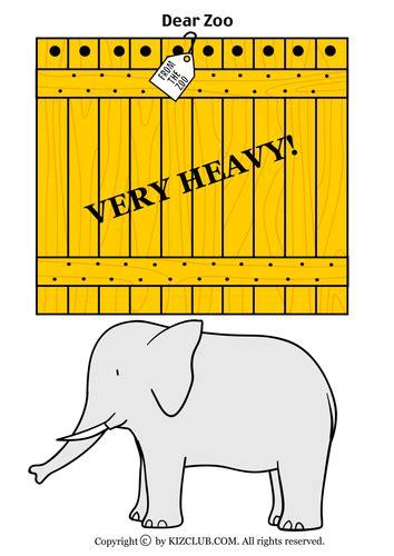 dear zoo printable animals dear zoo by lifeoutreach teaching resources tes