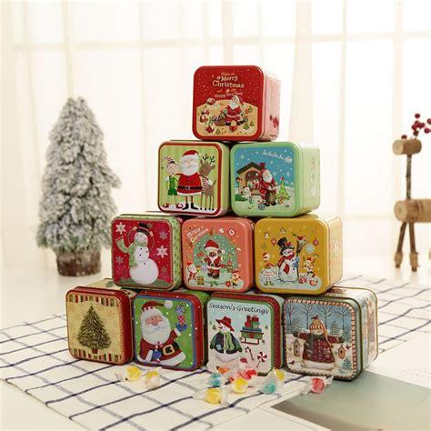 merry christmas deals candy box bag christmas tree gift box  bell paper box gift bag