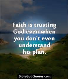Bible Quotes About Trusting God