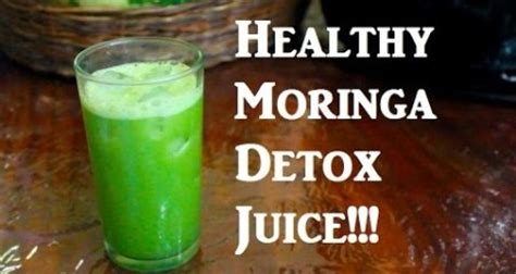 Moringa Detox Recipe by Moringa Juice Recipe Kidney Cleanse Moringa Facts