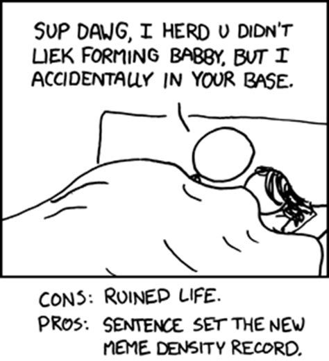 Fuck Life Meme - xkcd sucks comic 550 this does indeed ruin my life