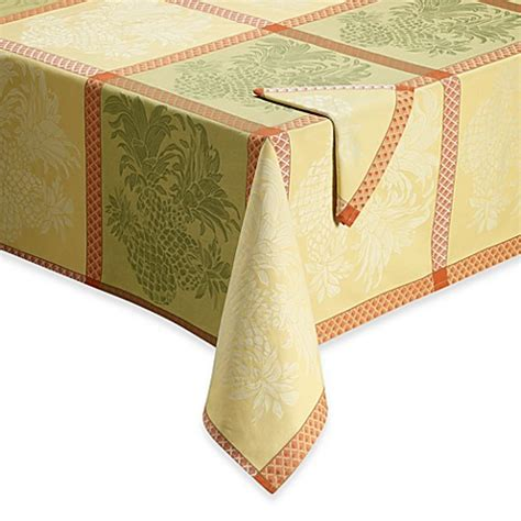 bahama white pineapple l bahama 174 home pineapple jacquard tablecloth and