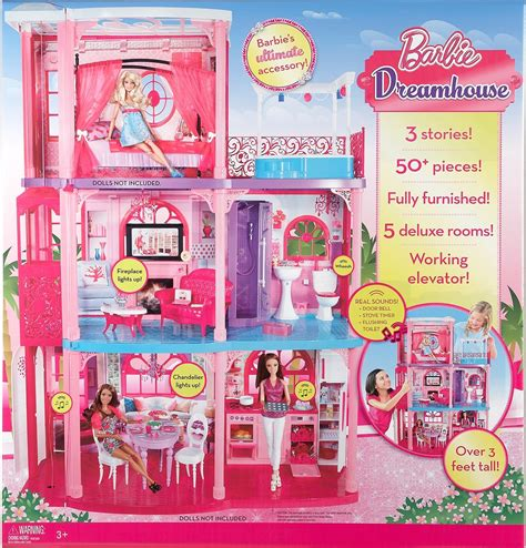 barbie dream house on sale amazon sale barbie 3 story townhouse 99 w free shipping