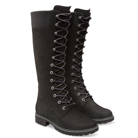 womens black timberland boots timberland timberland 14 inch premium black z16 8167r