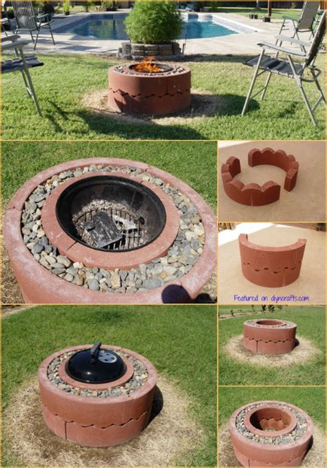 how to build your own firepit how to build your own mobile pit for just 50