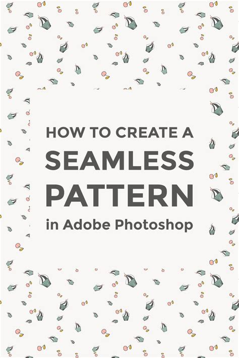 seamless pattern techniques how to make a seamless pattern in photoshop adobe