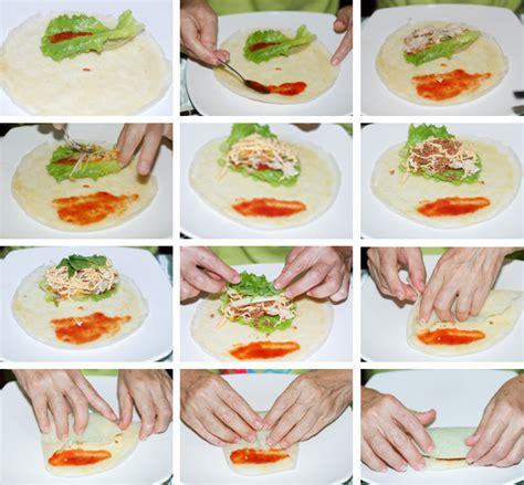 How To Make Vegetarian Rice Paper Rolls - step by step vegetarian rolls popiah healthy