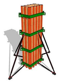 blog oong metode pelaksanaan kolom  bangunan gedung