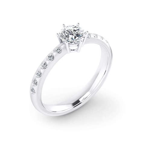 imagenes de anillos de compromiso en oro blanco anillos de compromiso oro blanco blog de clem 232 ncia peris
