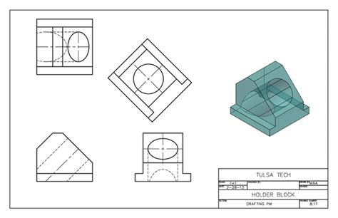 autocad tutorial orthographic autocad 2013 orthographic auxiliary views 3d model