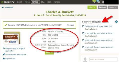 Ancestry Social Security Records New Try This Now U S Social Security Applications And Claims Index Genealogy Gems