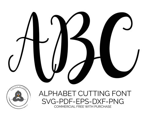 Wedding Font Silhouette by Svg Fonts Lettered Svg Wedding Font Svg Fonts For