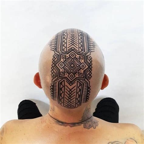 pattern head tattoo 543 best collar neck head tattoo ideas images on