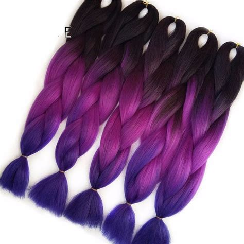 Jepit Rambut Ombre Hair Extension Eggplant Purple 124 best images about on marley braids hairstyles and black