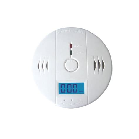 shop aubig lcd co carbon monoxide detector home security