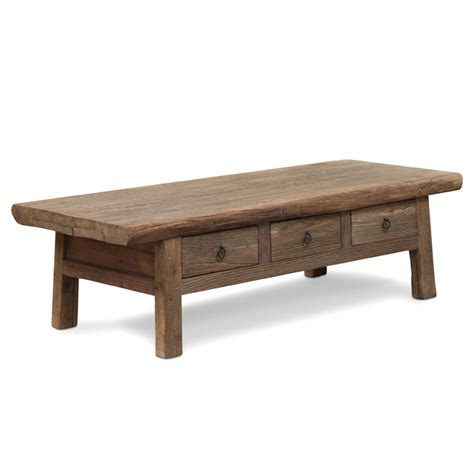Reclaimed Elm Coffee Table Reclaimed Elm Coffee Table