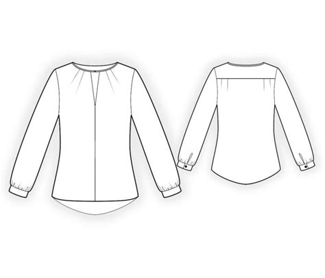 blouse sewing pattern 8004 made to measure sewing blouse sewing pattern 4420 made to measure sewing