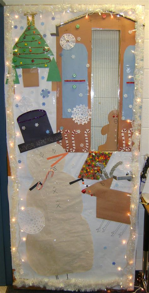 math like christmas door decorations 2009 door decorating contest winter numberland can you spot the math symbols i like school