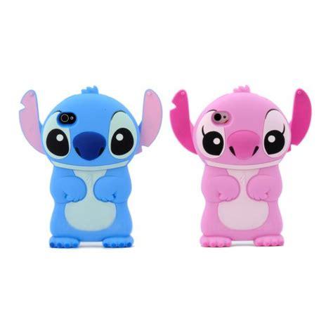 Stitch F0227 Iphone 5 5s 3d disney s stitch protection iphone 5 5s wackydot