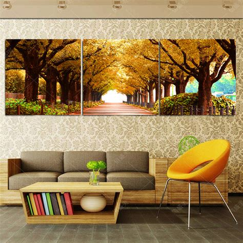 cheap paintings for bedroom aliexpress com buy no frames 3pcs tree pictures home